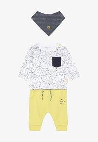 Staccato - SET - Broek - yellow/white - 5
