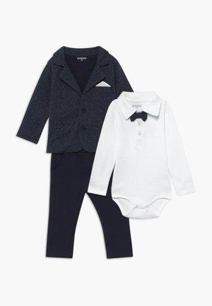 BLAZER BODY HOSE SET - Oblek - dark blue/white