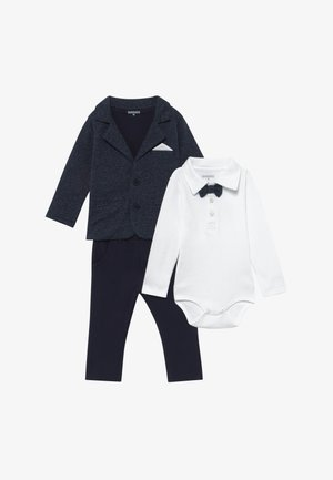 BLAZER BODY HOSE SET - Oblek - dark blue/white