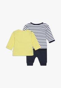 Staccato - SET - Mikina na zip - dark blue/yellow - 1
