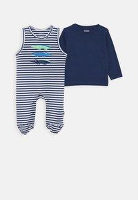 Staccato - LONGSLEEVE SET - Sleep suit - dark tinte - 0
