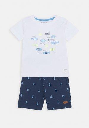 BABY SET - Shorts - dark blue/white