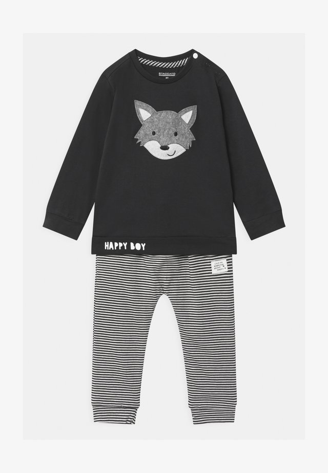SET - Spodnie materiałowe - dark blue