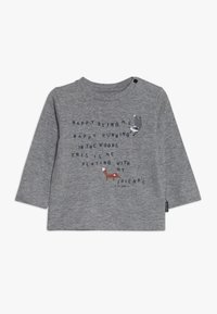 Staccato - WOODLAND BABY 2 PACK - T-shirt à manches longues - mottled grey/dark blue - 2