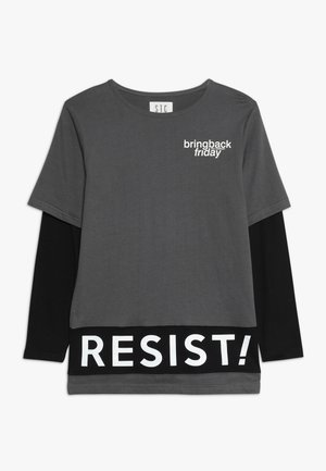 TEENAGER - Maglietta a manica lunga - anthra