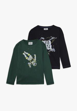 KID 2 PACK - Långärmad tröja - blau/grün