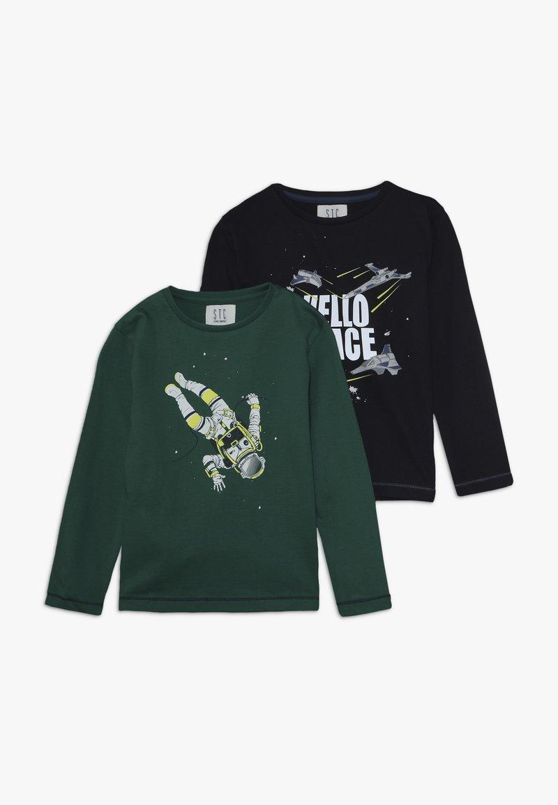 Staccato - KID 2 PACK - Langarmshirt - blau/grün
