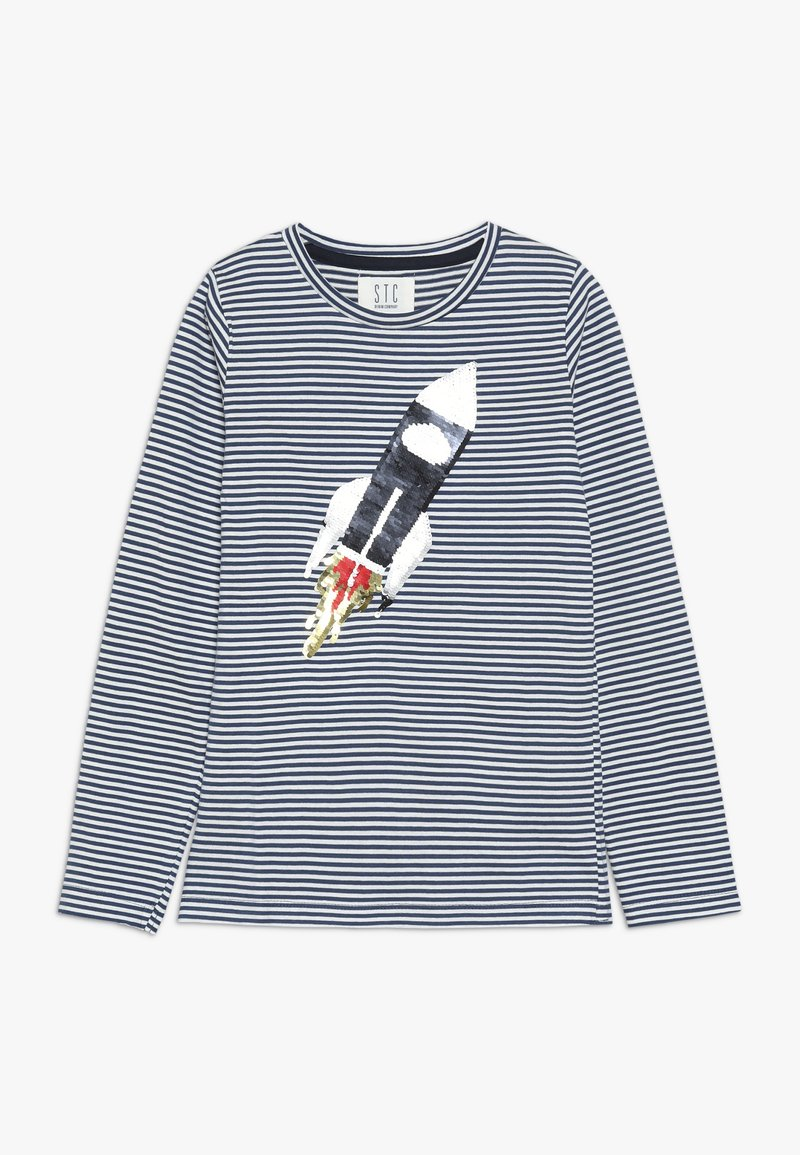 Staccato - STREIFEN KID - Longsleeve - washed blue