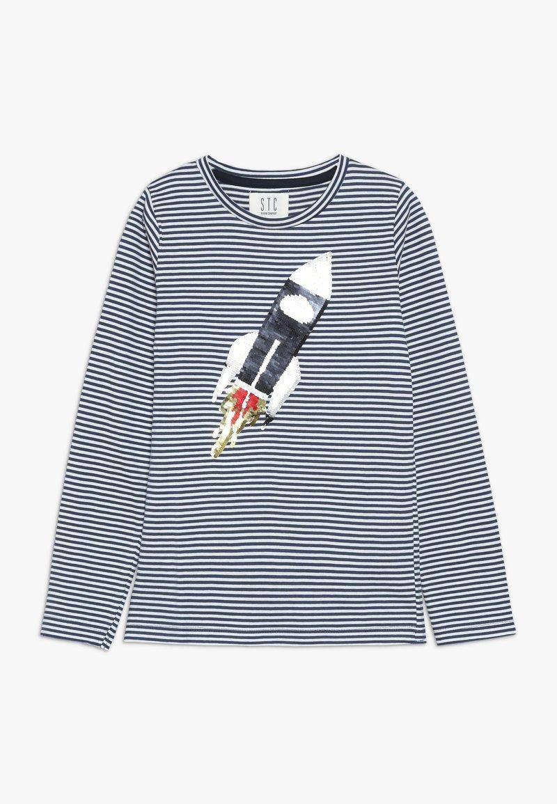 Staccato - STREIFEN KID - Langærmede T-shirts - washed blue
