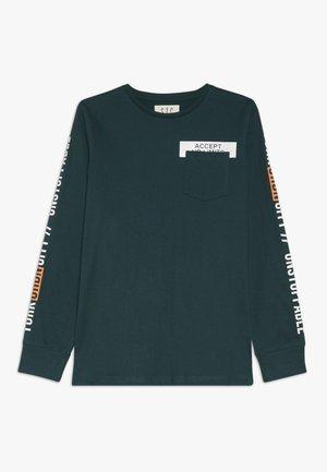 TEENAGER - Camiseta de manga larga - bottle green