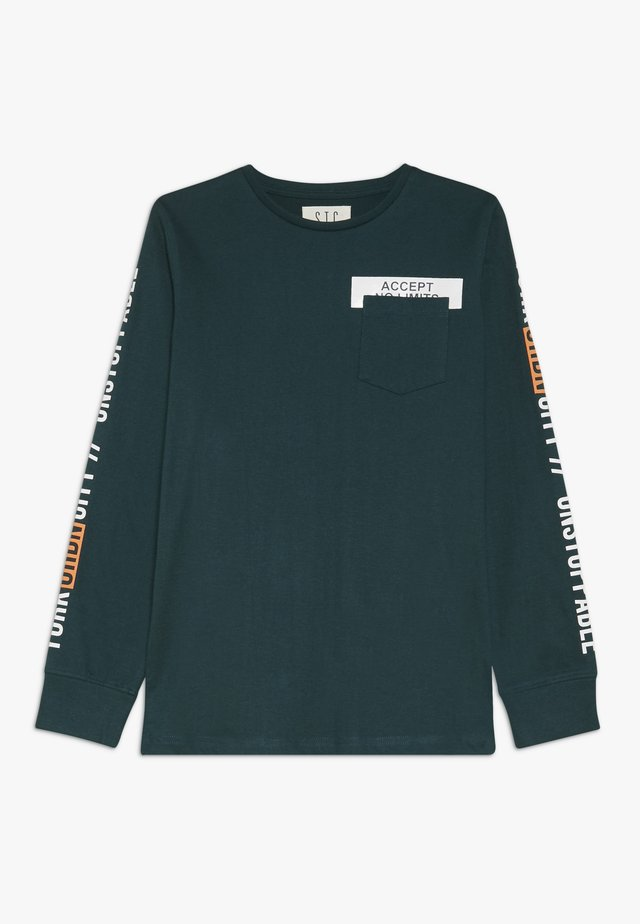 TEENAGER - Longsleeve - bottle green