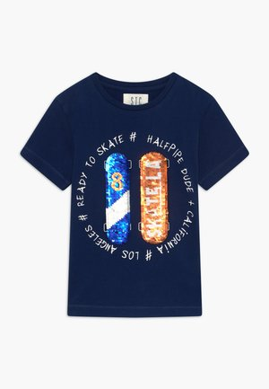 KID - T-shirt print - marine