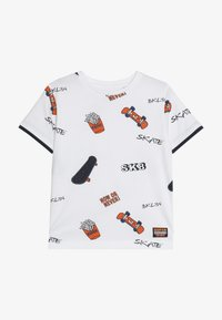 Staccato - KID - Camiseta estampada - white - 3