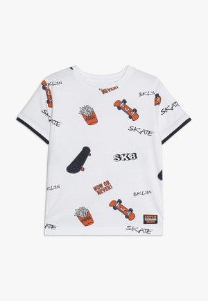 KID - T-shirt z nadrukiem - white