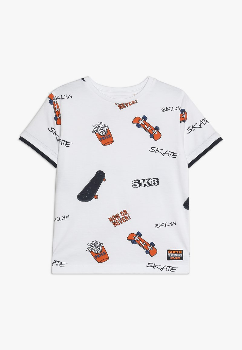 Staccato - KID - Camiseta estampada - white