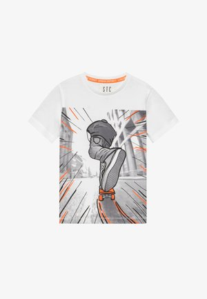 KID - Print T-shirt - white