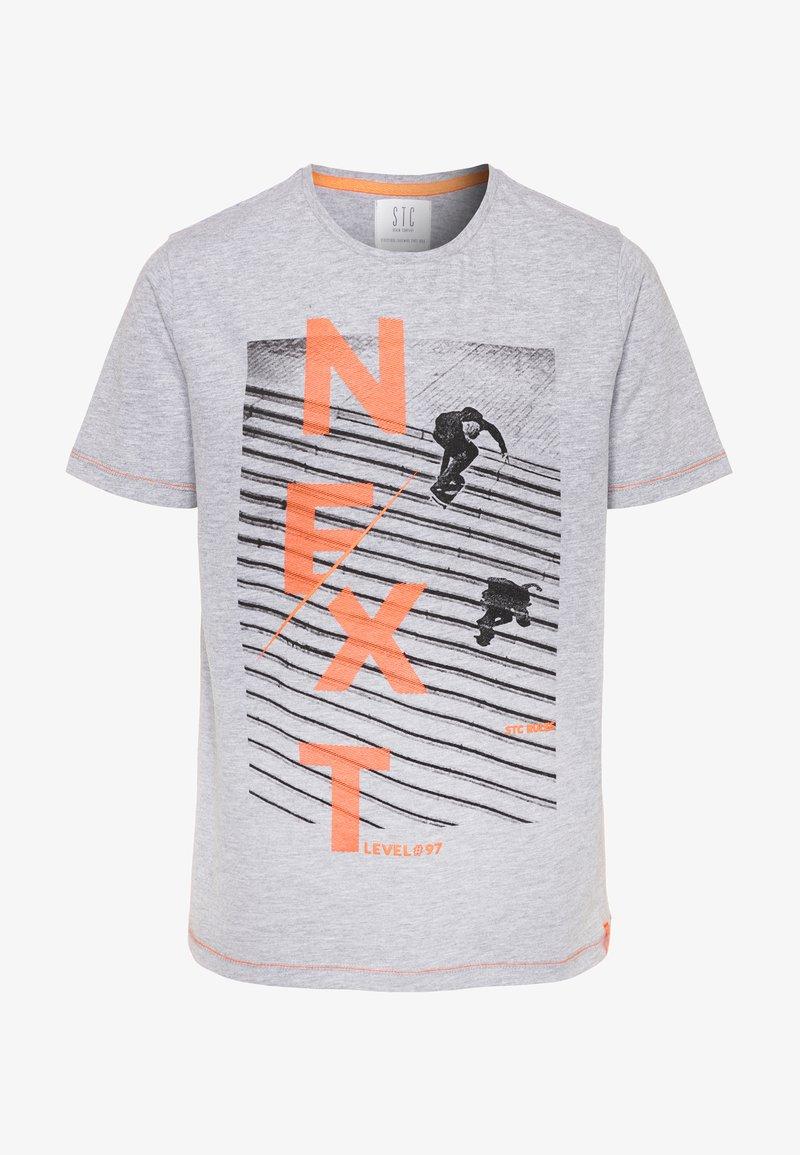Staccato - TEENAGER - T-shirt imprimé - grey melange