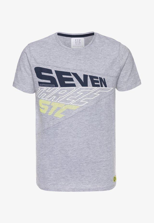 TEENAGER - T-shirt print - grey melange