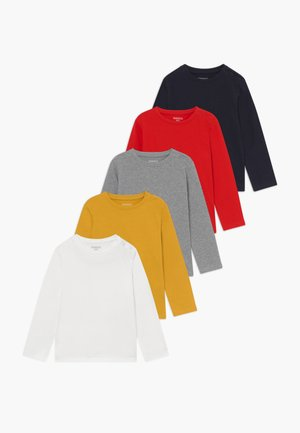 5 PACK - T-shirt à manches longues - multi-coloured