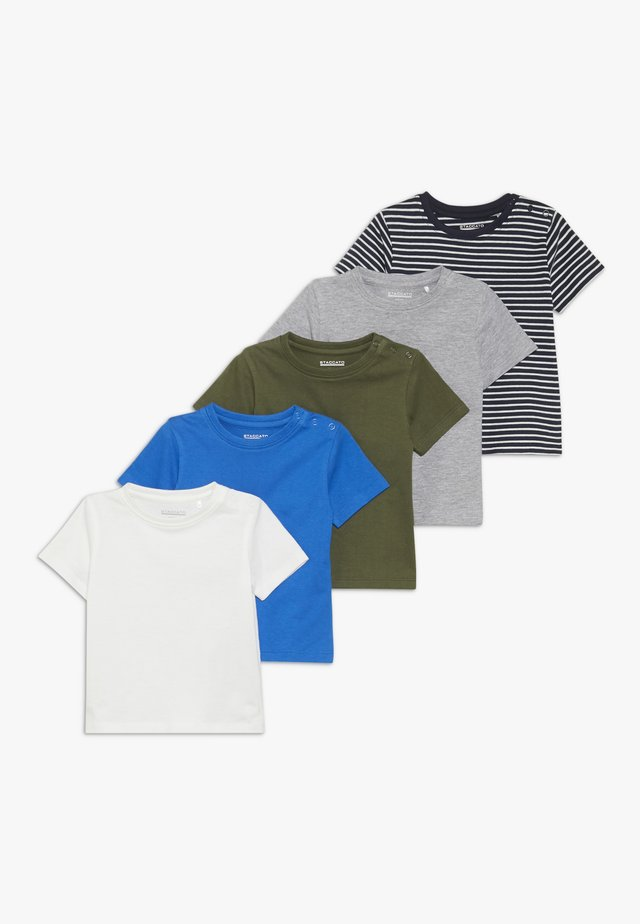 5 PACK  - Print T-shirt - bunt