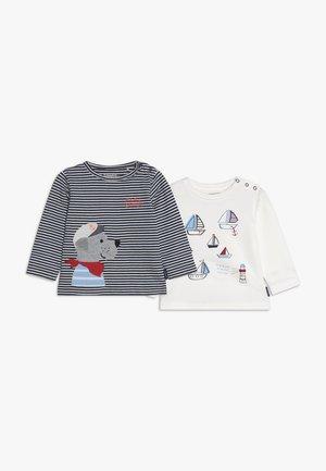 2 PACK - T-shirt à manches longues - bunt