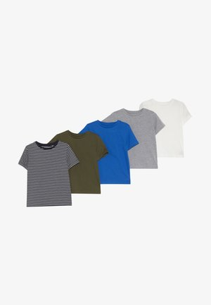 5 PACK - T-shirt con stampa - bunt