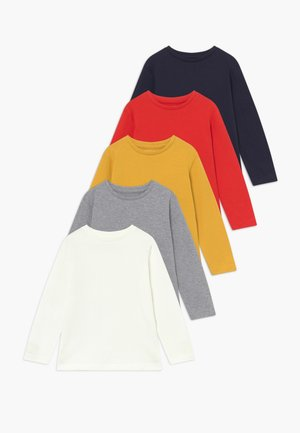 5 PACK - Long sleeved top - bunt sortiert