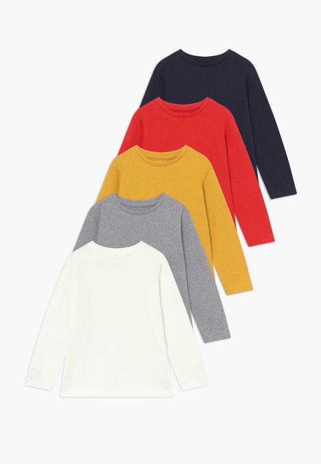 5 PACK - Long sleeved top - bunt sortiert