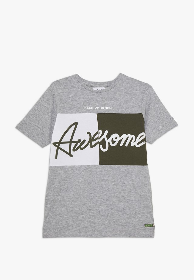 TEENAGER - Camiseta estampada - grey melange