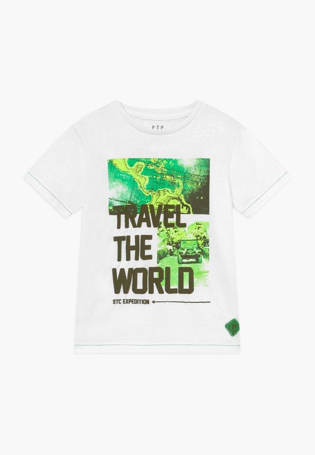 KID - T-Shirt print - white