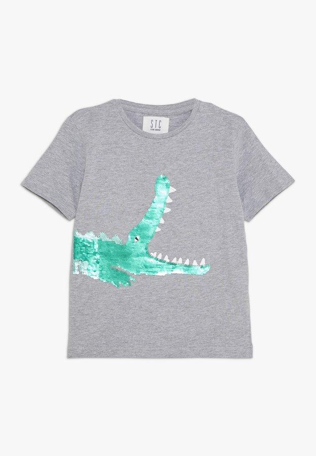 KID - T-Shirt print - grey melange