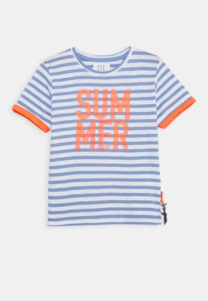 STREIFEN KID - Camiseta estampada - soft ocean