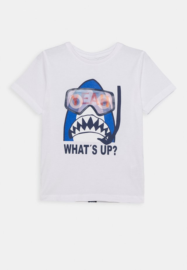 KID - T-shirts med print - white