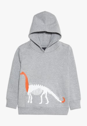 BOY JUMPER KID - Mikina s kapucí - grey melange