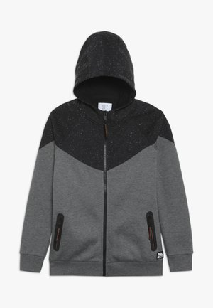 TEENAGER - veste en sweat zippée - black