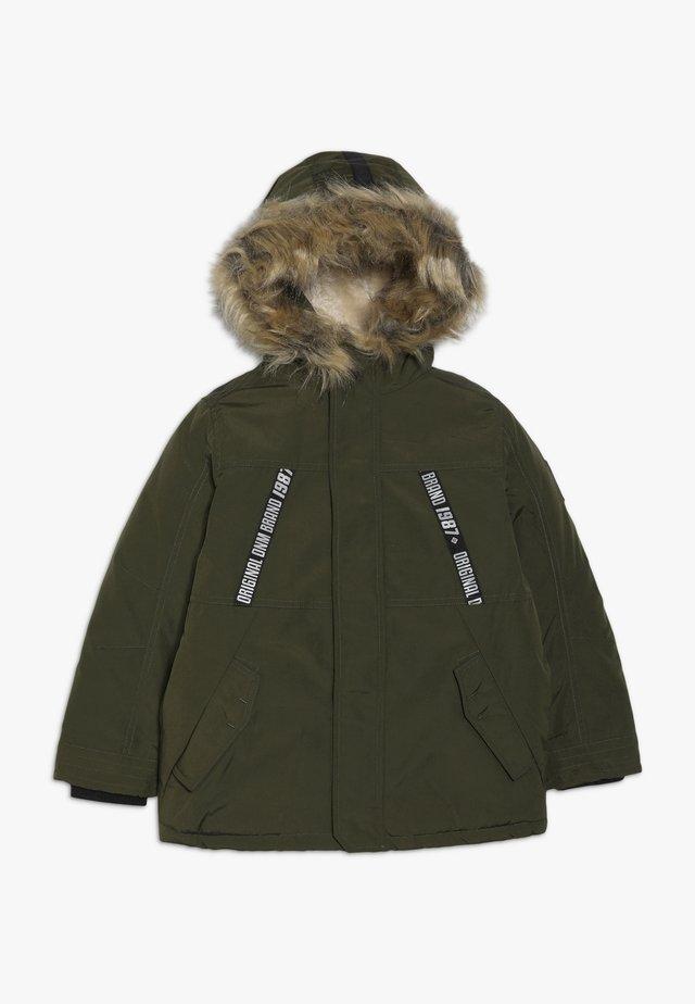 KID - Zimní bunda - olive