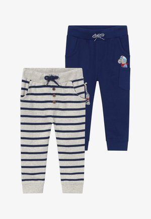 2 PACK - Pantalones - dark blue