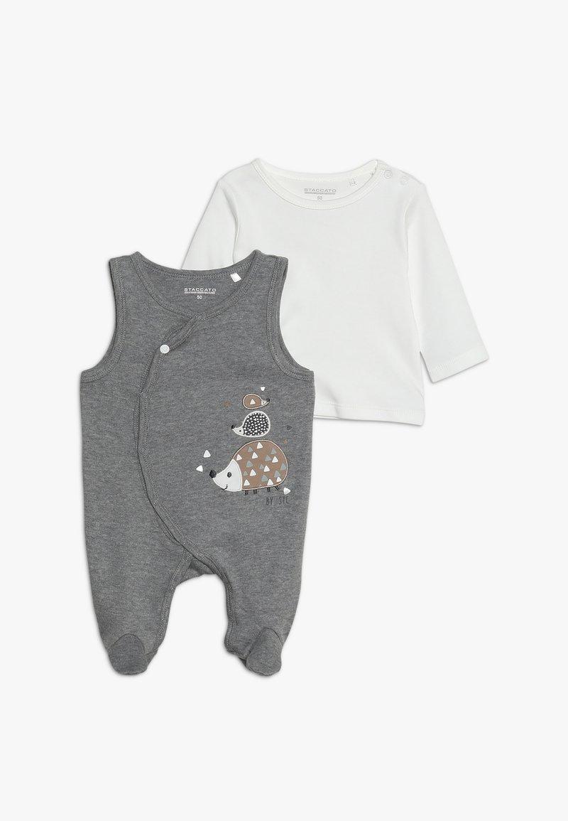 Staccato - WOODLAND BABY SET - Jumpsuit - grey melange