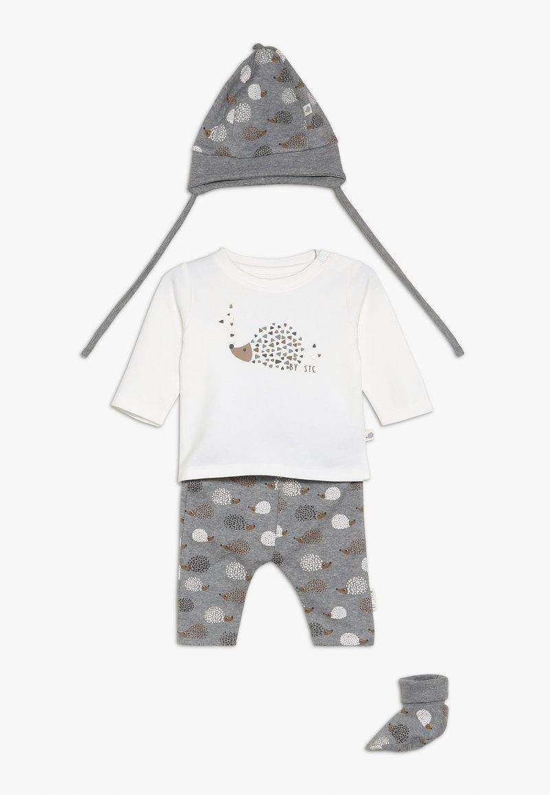 Staccato - WOODLAND BABY SET - Mütze - grey