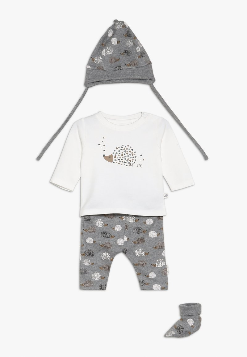 Staccato - WOODLAND BABY SET - Gorro - grey