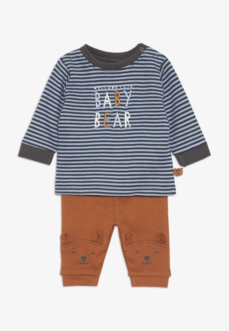Staccato - WOODLAND BABY SET - Trousers - blue