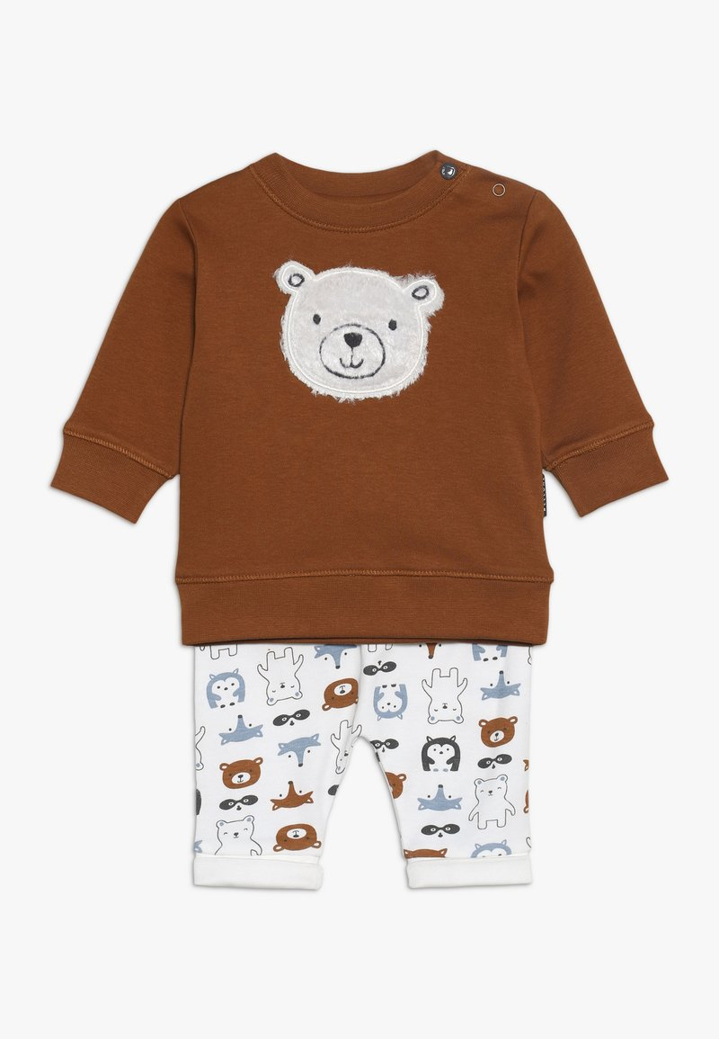 Staccato - WOODLAND BABY SET - Trousers - multi-coloured