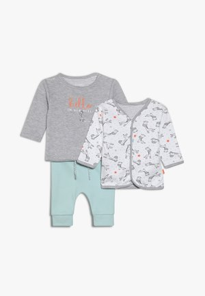 WENDEJACKE SET - Cardigan - grey/mint