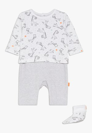 OVERALL SCHUHE SET - Jumpsuit - grey