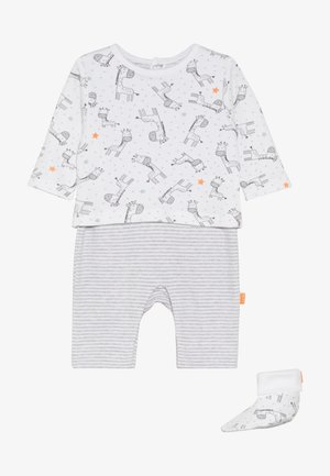 OVERALL SCHUHE SET - Jumpsuit - grey