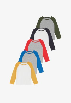 5 PACK  - Long sleeved top - multi-coloured
