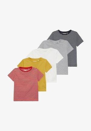 5 PACK - T-shirt imprimé - multi-coloured