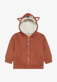 Staccato - WOODLAND BABY - Zip-up hoodie - rust melange - 3
