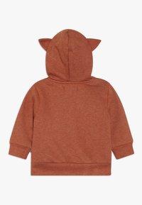 Staccato - WOODLAND BABY - Zip-up hoodie - rust melange - 1