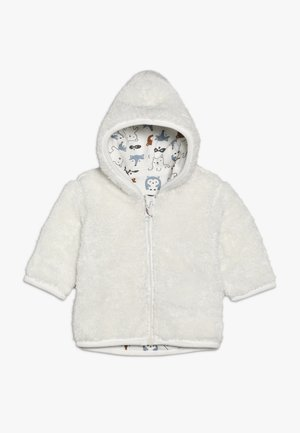 BABY - Mikina na zip - off-white